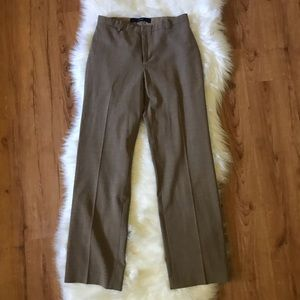 GAP CLASSIC FIT BROWN TROUSER PANTS